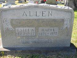 Estel A Allen