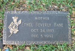 Ethel Beverly Bane