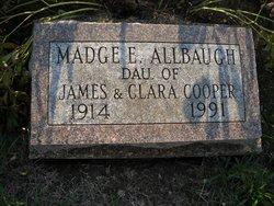 Madge E <i>Cooper</i> Allbaugh