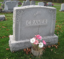 Anna Josephine <i>Mahar</i> Cramer