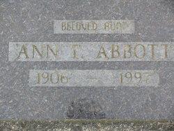 Ann T Abbott