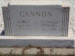 Thomas O. Cannon
