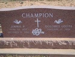 Jimmie P. Champion