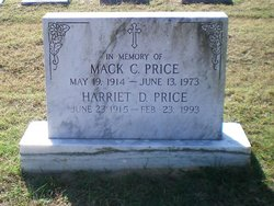 Harriet D Price