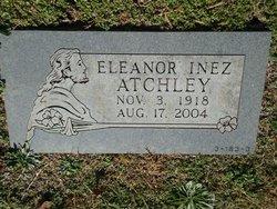 Eleanor Inez <i>Atchley</i> Atchley