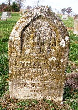 William F Cole
