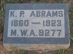 K. P. Abrams