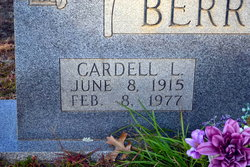 Cardell Lambert Berrong