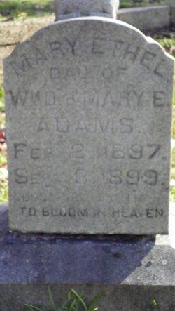 Mary Ethel Adams