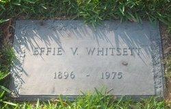 Effie V <i>Beasley</i> Whitsett