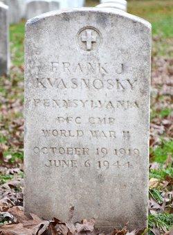 PFC Frank John Kvasnosky