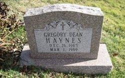 Gregory Dean Haynes