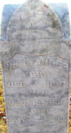 William G Andes