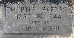 Myrtle <i>Barnes</i> Hursh