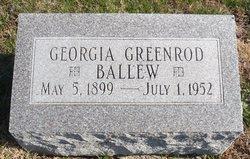 Georgia Marie <i>Greenrod</i> Balew
