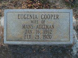 Eugenia <i>Cooper</i> Aultman