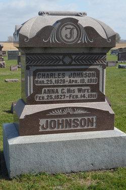 Anna Christina <i>Pehrsdotter Moling</i> Johnson