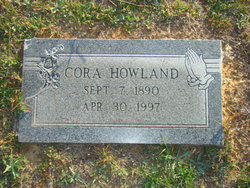 Cora Beatrice <i>Purvis</i> Howland