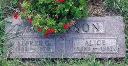 Alice <i>Erickson</i> Anderson