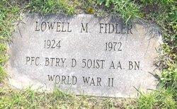 Lowell Marley Fidler