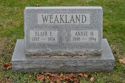 Annie M. Weakland