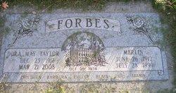 Dora May <i>Taylor</i> Forbes