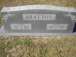 Velma Nettie <i>Daniel</i> Bratton