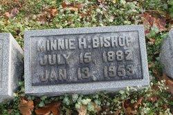 Minnie Helena <i>Pressler</i> Bishop