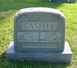 Alice A. <i>VanSickle</i> Casteel