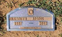 Hazel Elizabeth <i>Bradley</i> Adams