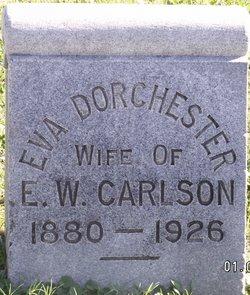 Eva <i>Dorchester</i> Carlson