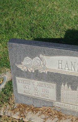 Myrtle Cecilia <i>Johnson</i> Hansen