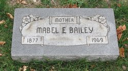 Mabel E <i>Newhouse</i> Bailey