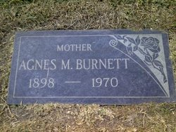 Agnes Mae <i>Larkin</i> Burnett