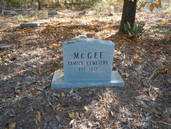 McGee Family Cemetery