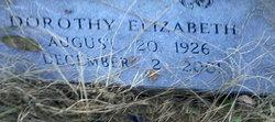 Dorothy Elizabeth Jackson