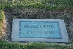 Myrtle Irene <i>Nutting</i> Beffa