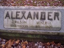 Minerva Fietta <i>Carroll</i> Alexander