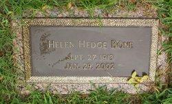 Helen <i>Hedge</i> Bone