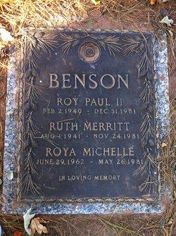 Roya Michelle Benson
