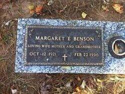 Margaret E. Benson