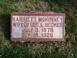 Harriett <i>McKinney</i> Becker