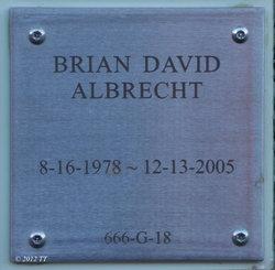 Brian David Albrecht