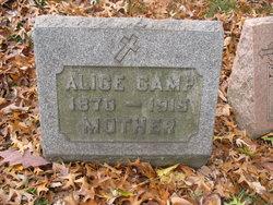 Alice C. <i>McCann</i> Camp