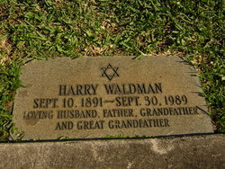 Harry Waldman