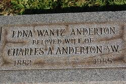 Edna <i>Wantz</i> Anderton