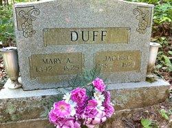 Mary A. <i>McCleese</i> Duff