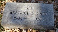 Beatrice E. <i>Campbell</i> Cain
