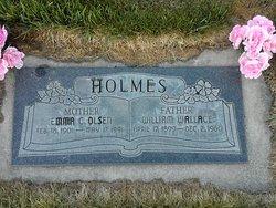 Emma Christine <i>Olsen</i> Holmes