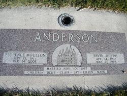 Florence <i>Moulton</i> Anderson